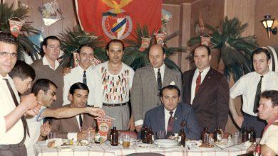 Fundadores da Casa do Benfica de Toronto no antigo restaurante Império - Créditos: DR