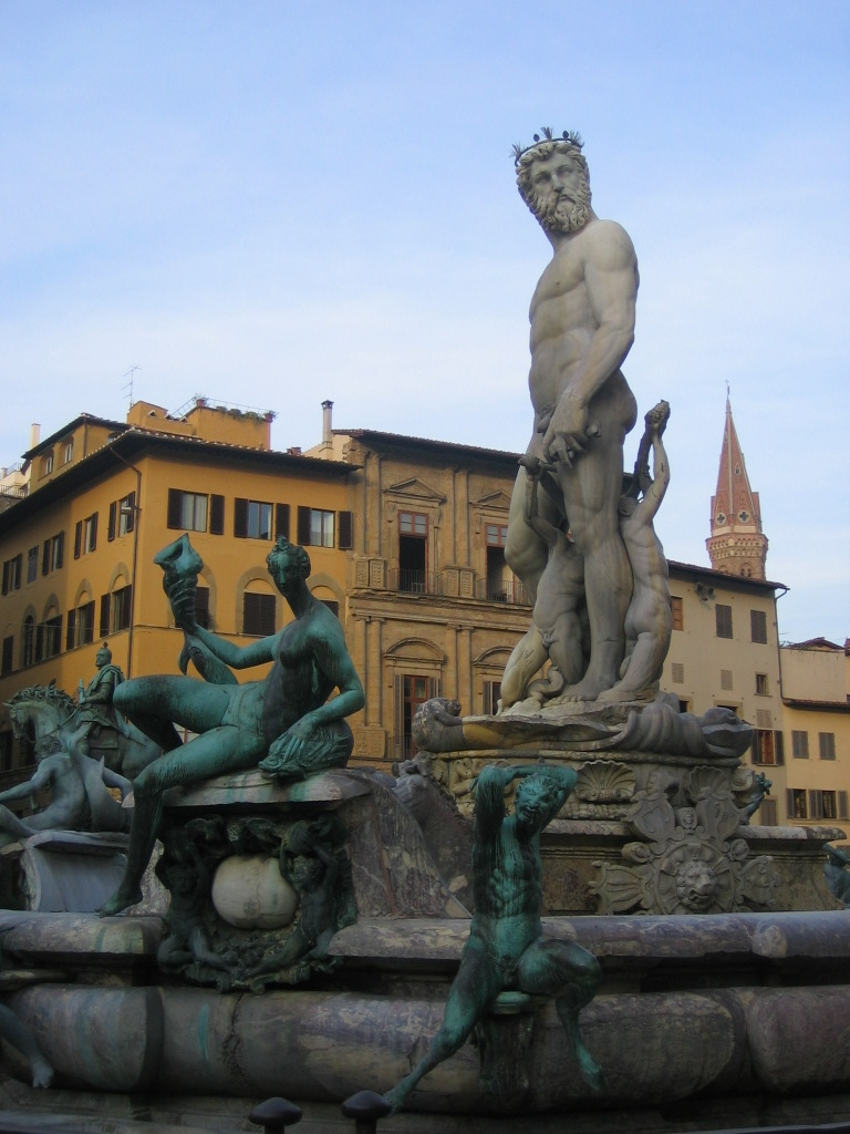 Estátua de Neptuno - Praça Della Signoria