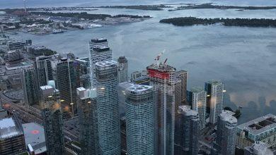 Vista da CN Tower