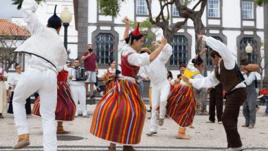 Bailinho da Madeira passa às semi-finais das 7 maravilhas de Portugal-Milenio Stadium-Madeira