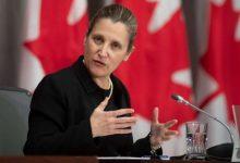 Freeland to replace Morneau as Trudeau's finance minister-Milenio Stadium-Canada