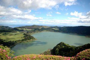 Lagoa das Furnas, São Miguel-Milenio Stadium-Açores