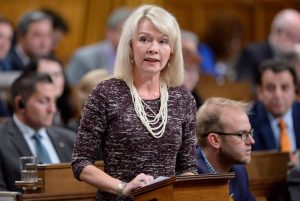 Deputy Conservative Leader Candice Bergen-Milenio Stadium-Canada