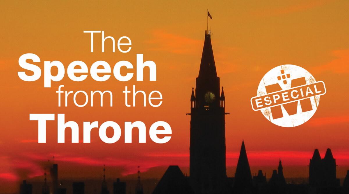 Milenio Stadium - especial - throne speech - canada