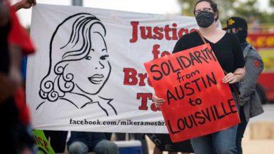 Nenhum polícia foi indiciado pela morte de Breonna Taylor
