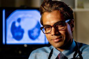 Samir Gupta, a clinician-scientist at St. Michael's Hospital in Toronto-Milenio Stadium-Canada
