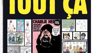 """""""Charlie Hebdo"""" republica caricaturas de Maomé-mundo-frança-mileniostadium"""