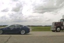 Speeding Tesla driver caught napping behind the wheel on Alberta highway-Milenio Stadium-Canada