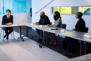 Trudeau meets with Black entrepreneurs-Milenio Stadium-Canada