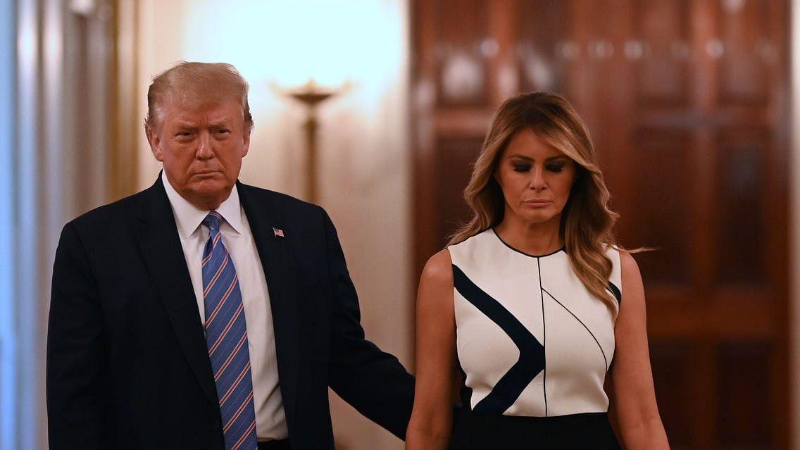 """Donald Trump e Melania estão infetados com o novo coronavírus: """"Vamos iniciar imediatamente a quarentena"""""""