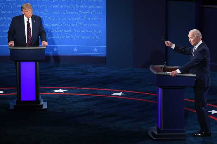 "Joe Biden deseja ""rápida recuperação"" ao casal Trump"