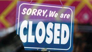 Milenio Stadium - canada sorry-we-are-closed-sign