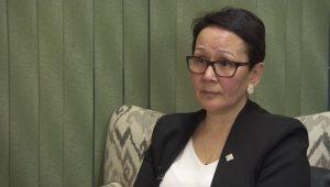 Nunavut Justice Minister Jeannie Ehaloak-Milenio Stadium-Canada
