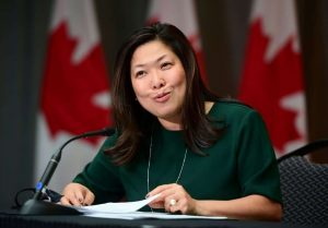 Small Business Minister Mary Ng-Milenio Stadium-Canada