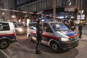 Agressor morto após atentado-austria-mileniostadium