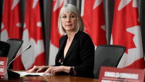 Health Minister Patty Hadju-Milenio Stadium-Canada