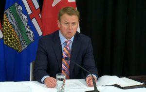 Health Minister Tyler Shandro-Milenio Stadium-Canada