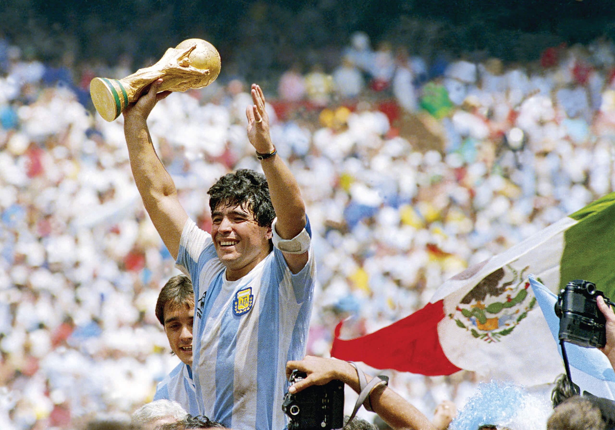 Milenio Stadium - Argentina - Maradona