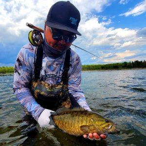 Ben Woo, organizer of B1 Fishing tournaments-Milenio Stadium-Canada