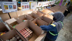 Daily Bread Food Bank-Milenio. Stadium-Ontario