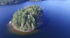 Hurtubise Island near Sudbury-Milenio Stadium-Ontario