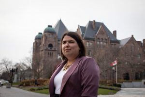 NDP MPP Suze Morrison-Milenio Stadium-Ontario