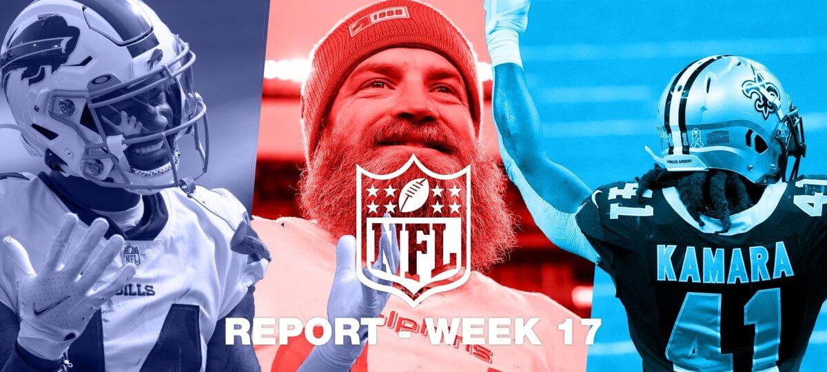 NFL Report – Week 17