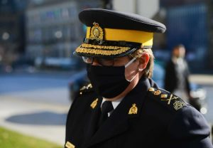 RCMP Commissioner Brenda Lucki-Milenio Stadium-Canada