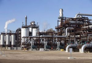Shell Canada's Quest project in the Fort Saskatchewan-Milenio Stadium