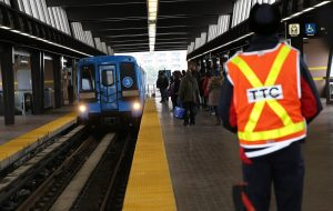 Toronto subway-Milenio Stadium-Ontario