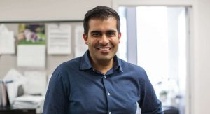 Zain Chagla, an infectious disease specialist at St. Joseph's Healthcare Hamilton-Milenio Stadium-Ontario