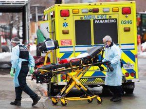 Hospitalizations in Quebec-Milenio Stadium-Canada