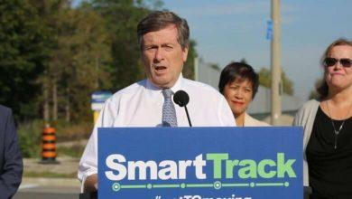 John Tory's SmartTrack plan shrinks again as city prepares to debate line's future-Milenio Stadium-Ontario