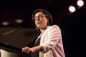NDP MP Niki Ashton-Milenio Stadium-Canada