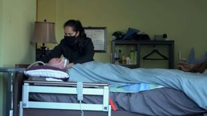 Senior presumed to have COVID-19 left soiled in bed for days after home care visits cancelled-Milenio Stadium-Ontario