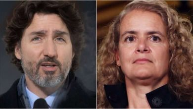 Trudeau spoke to the Queen this morning following Payette's sudden resignation-Milenio Stadium-Canada