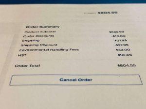 New electronics recycling fees-Milenio Stadium-Ontario