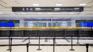 With just 141 tickets issued, PHAC says most travellers are following quarantine laws-Milenio Stadium-Canada