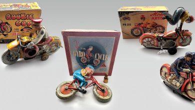 The evolution of tin toy motorcycles-toronto-mileniostadium