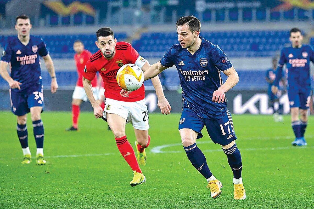 milenio stadium - liga europa - benfica-arsenal