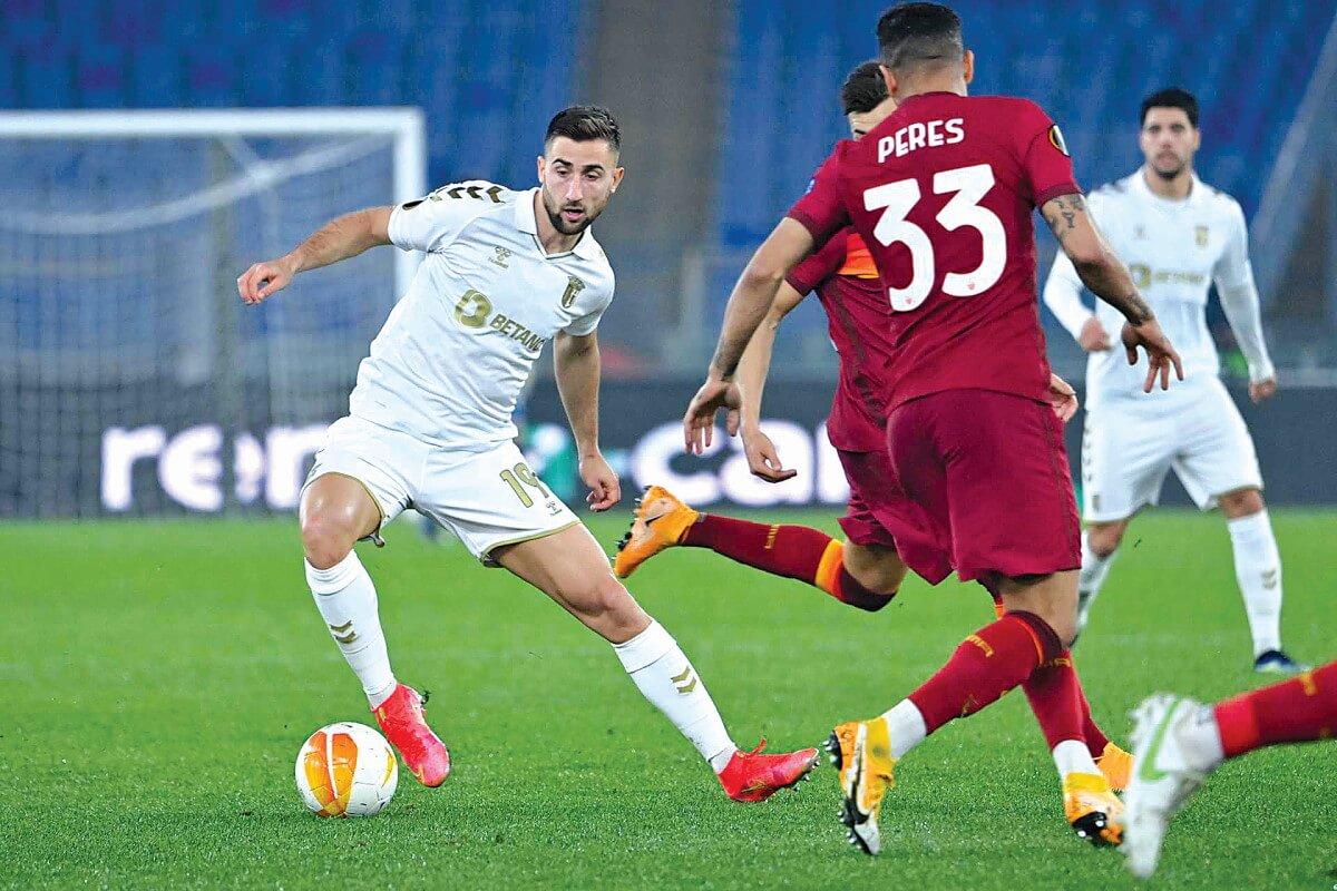 milenio stadium - liga europa - braga roma