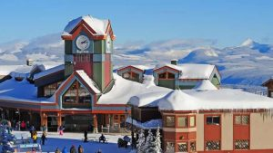 Big White ski resort-Milenio Stadium-Canada