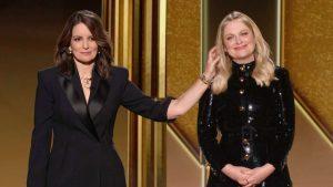 Golden Globes hosts Tina Fey, left, and Amy Poehler-Milenio Stadium-Canada