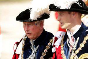Prince Charles, left, and his son, Prince William-Milenio Stadium-Canada