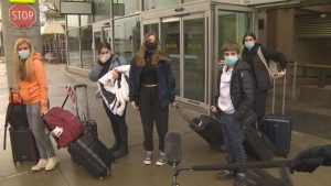 Quebec spring breakers arrive in B.C., despite warnings against non-essential travel-Milenio Stadium-Canada