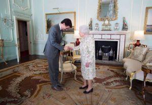Queen Elizabeth II receives Prime Minister Justin Trudeau-Milenio Stadium-Canada