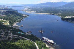 Trans Mountain's marine terminal in BC-Milenio Stadium-Canada