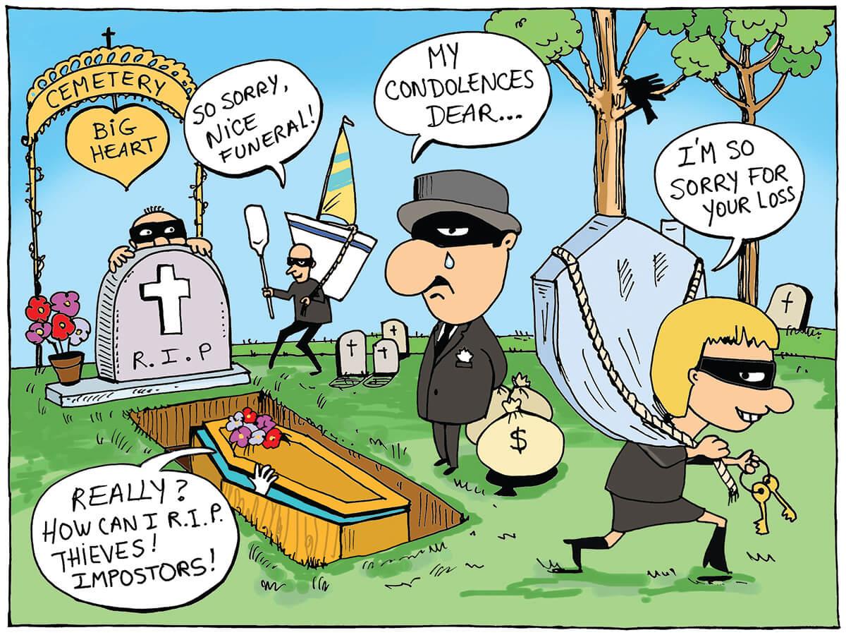 milenio stadium - editorial - ingles cartoon