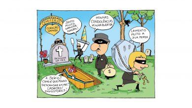 milenio stadium - editorial - portugues cartoon