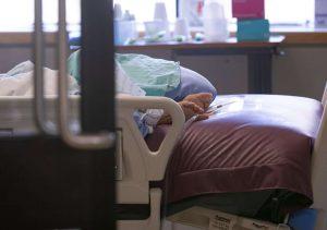 A patient in the ICU-Milenio Stadium-Ontario